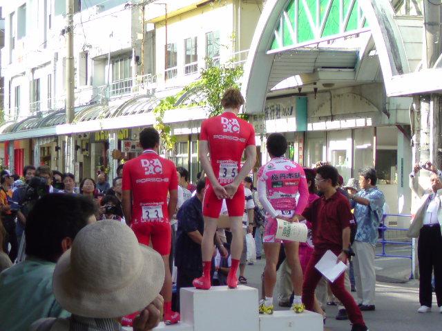 国際レース1<br />  日目表彰式