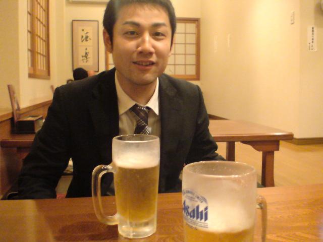 今日もビール